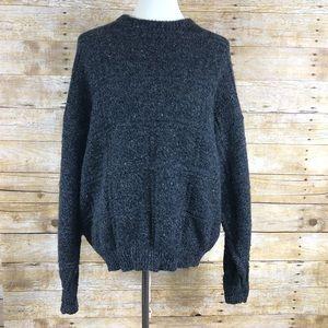 Vintage American Eagle Wool Blend Sweater Sz L